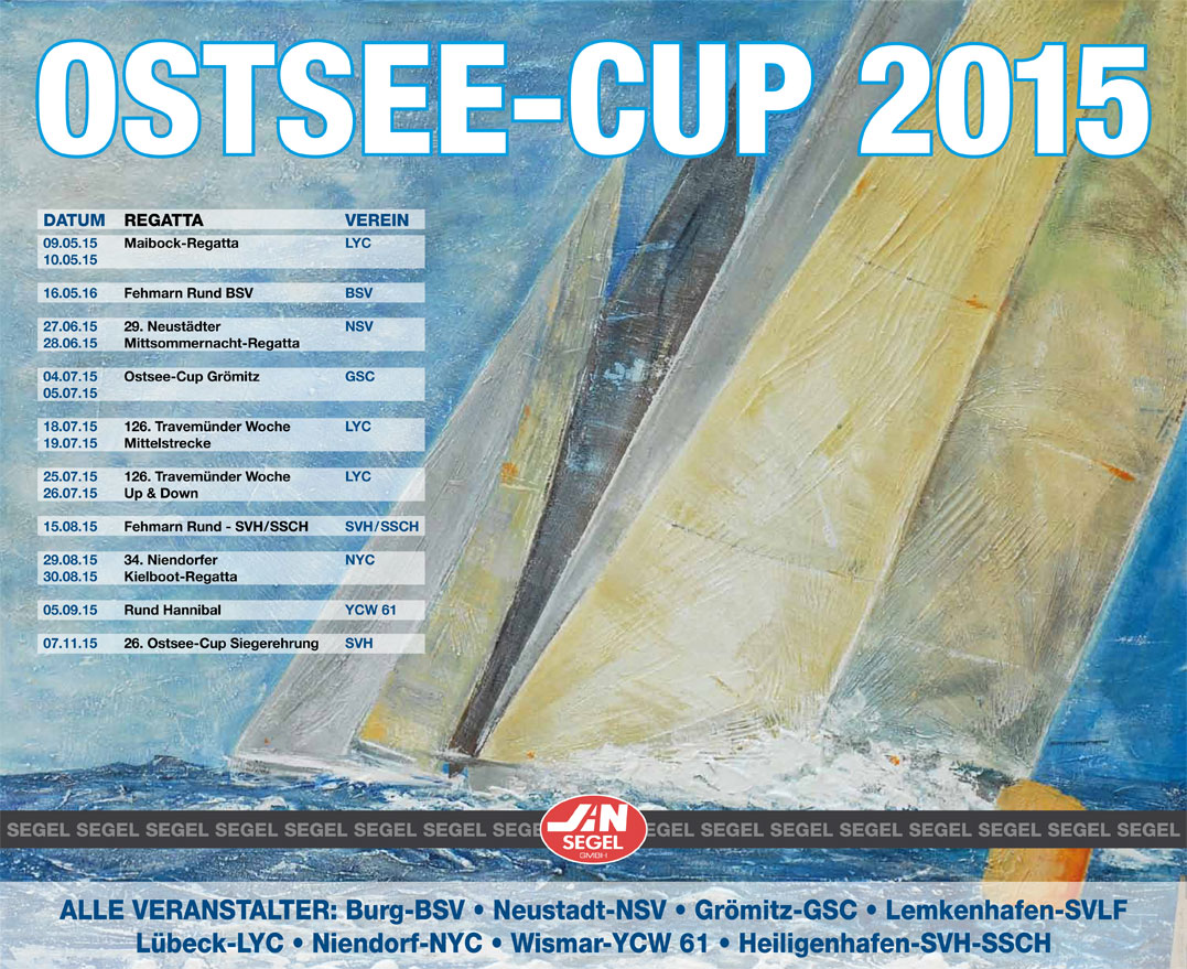 Ostsee Cup 2015 Plakat